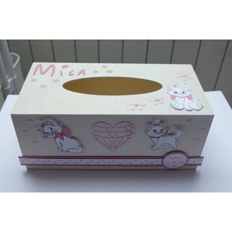 Boîte à mouchoirs Aristochat