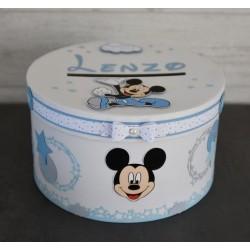 Urne baptême Mickey