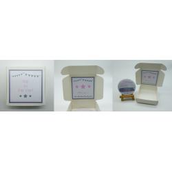 Boite badge Annonce grossesse Cap ou pas cap