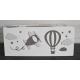 Boîte à mouchoirs - Avions et montgolfière