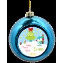 Boule de Noël Oiseau avec cadeaux de Noël