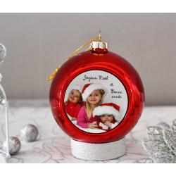 Boule de Noël avec Votre photo