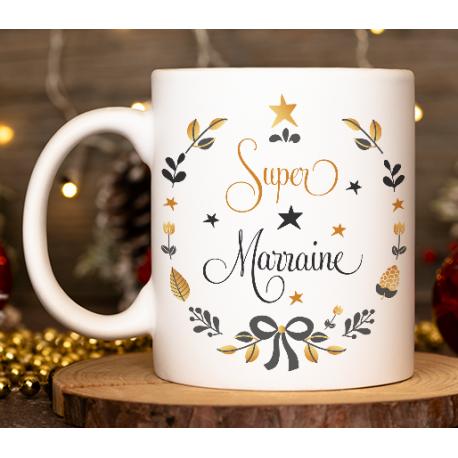 "Mug Noël ""Couronne de Noël"""