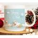 """Mug Noël """"Le traineau du Père Noël"""""""