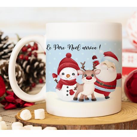 """Mug Noël """"Père Noël et ses amis"""""""