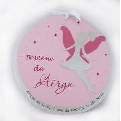"Invitation baptême ""la Fée Aëryn"""