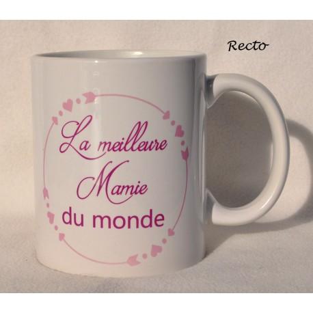 Mug  La meilleure mamie du monde