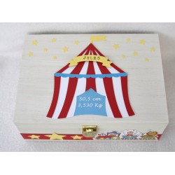 Coffret naissance Cirque