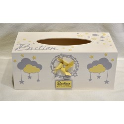 Boîte à mouchoirs Moulin à vent