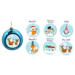 Boule de Noël thème Noël