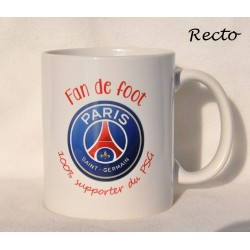 Mug  Super parrain fan de foot