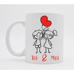 Mug Saint Valentin I will always love you