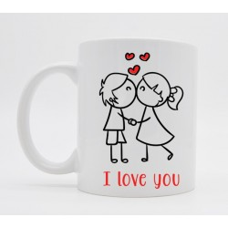 Mug Saint Valentin L'amour de ma vie